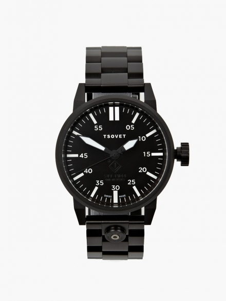 TSOVET ALL BLACK FW44 WATCH