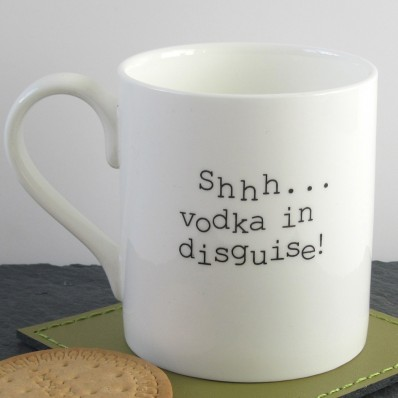 Vodka in disguise mug