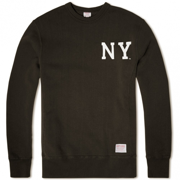 Majestic Select NY Vintage Crew Sweat
