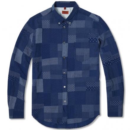 Missoni Button Down Patchwork Shirt