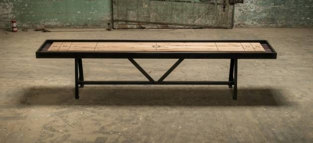a-frame shuffleboard table