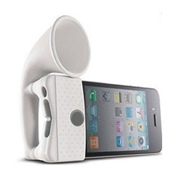 Silicone Horn / Speaker -stand holder for iPhone