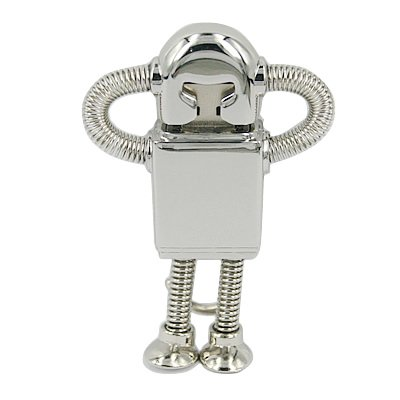 HDE ® Silver Robot 8Gb Flash Drive