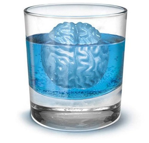 Silicone Drink Tray Cool Brain Shape Ice Cube