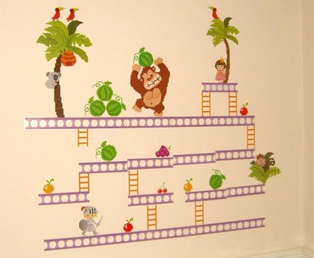 Donkey Kong Wall Stickers