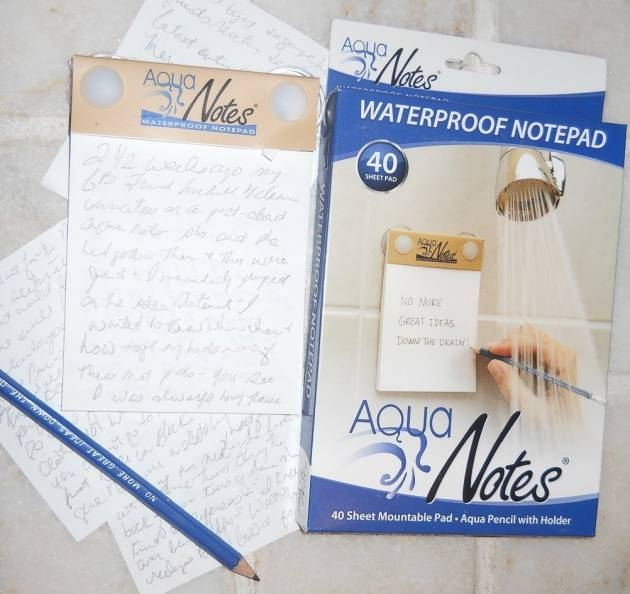 AquaNotes water Proof Note Pads