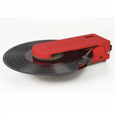 Crosley Revolution Portable Turntable in Orange UK Plug