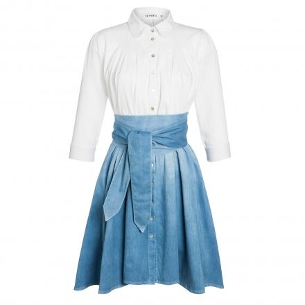 Outsider Dip Dye Shirt Dress