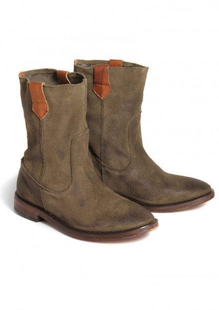 HANWELL SUEDE ANKLE BOOTS