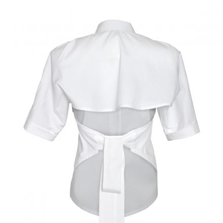 High Waist Peplum Detail Skirt