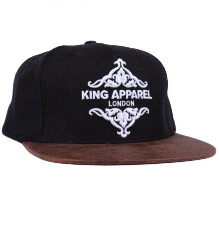 King Apparel Regal Pinch Panel Strapback