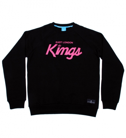 King Apparel E.L.K Script Crewneck