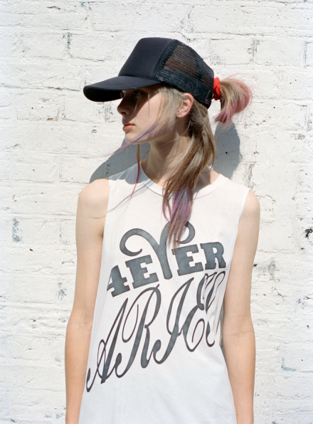 Aries Forever Vest in White