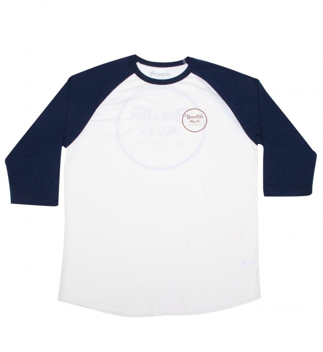 Brixton Wheeler 3/4 Sleeve T Shirt