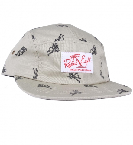 Rebel8 Permanent Vacation Camper 5 Panel Cap