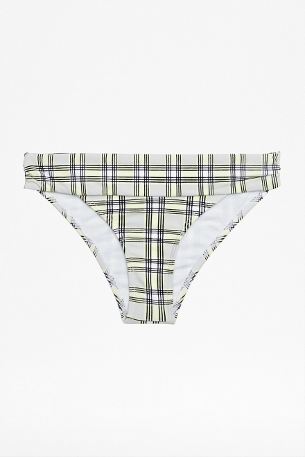 NANCY CHECK BIKINI BRIEFS