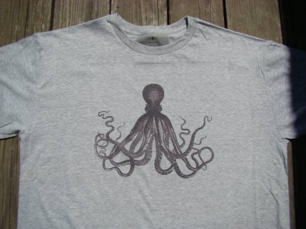 Octopus – Tshirt – Nautical Mens