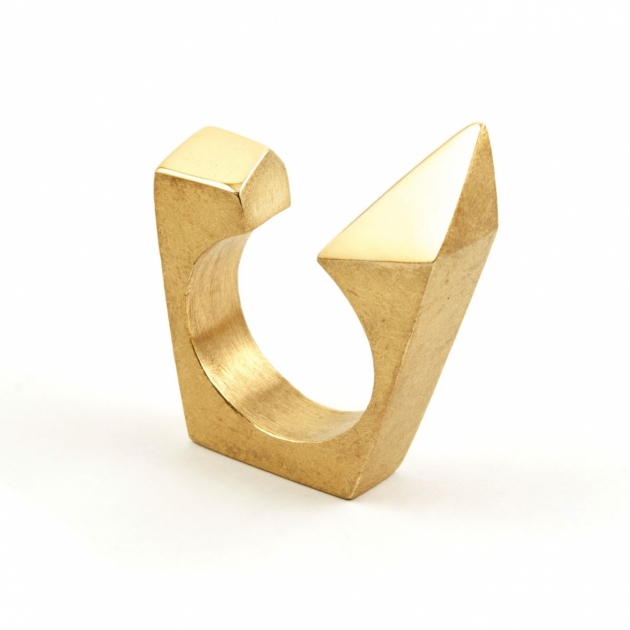 Open Shard Spike Ring