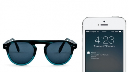 iBeacon-powered shades