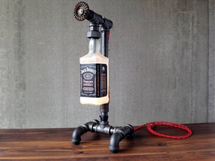 Jack Daniels Lamp – Bottle Lamp
