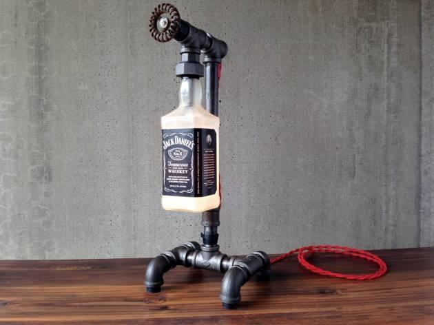 Jack Daniels Lamp – Bottle Lamp