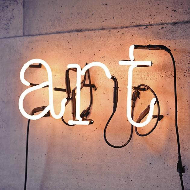 Classic Neon Letter Light