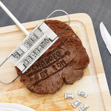 Personalised Steak Branding Iron