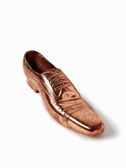 Tom Dixon Copper Cast Shoe Objet