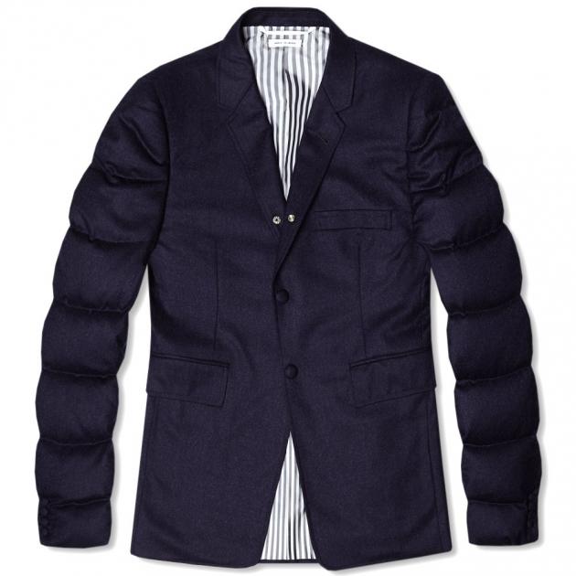 Thom Browne Down Filled Wool Blazer