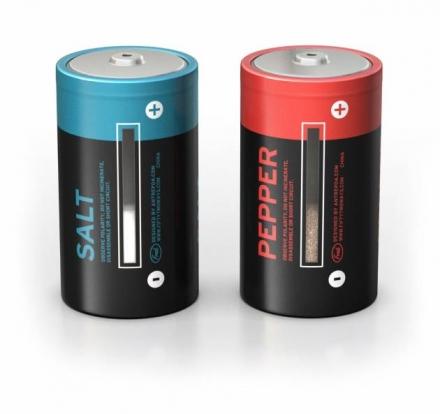 Fred Battery Salt & Pepper Shaker