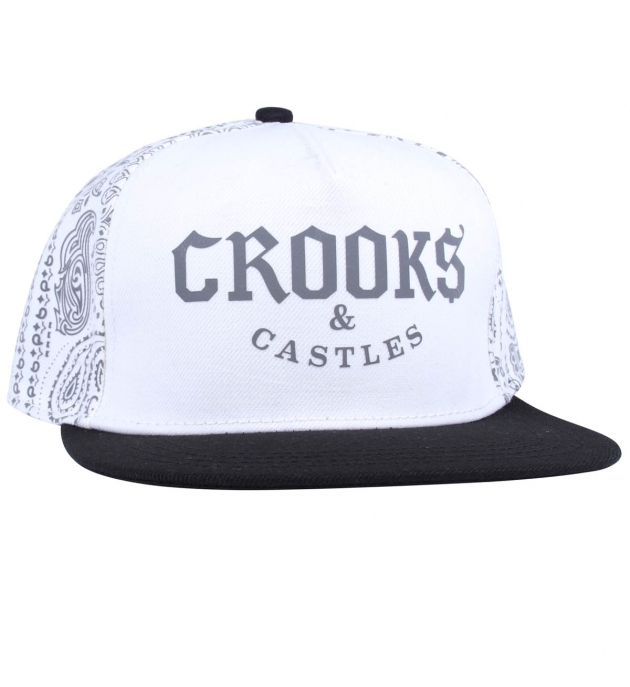 Crooks and Castles Bandit Snapback Cap