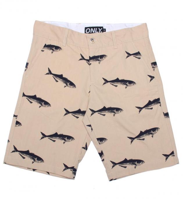Only NY Bluefish Chino Shorts