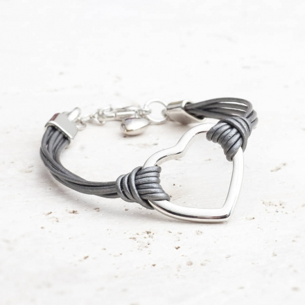Lexi Personalised Heart Bracelet