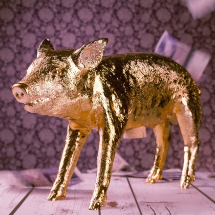 The Golden Pig Bank