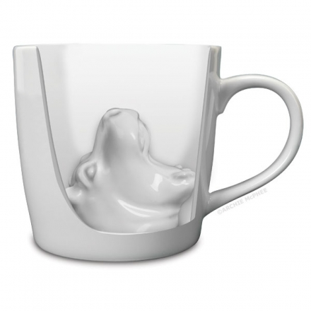 Hippo Attack Porcelain Mug