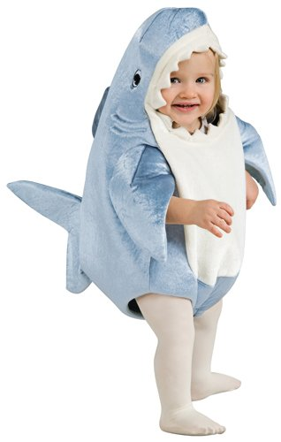Rubie's Costume Co Unisex-Child Deluxe Shark Romper Costume