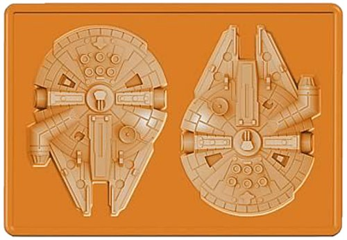 Star Wars Silicon Tray Millennium Falcon