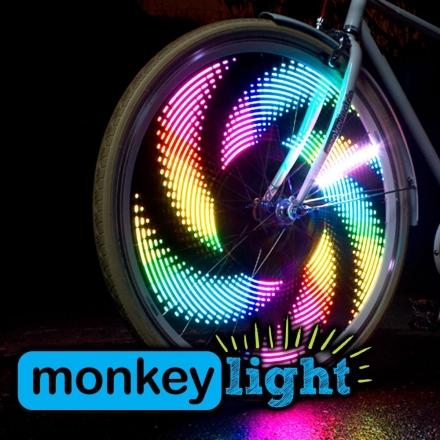 Monkeylectric Light Party LED Bike Light