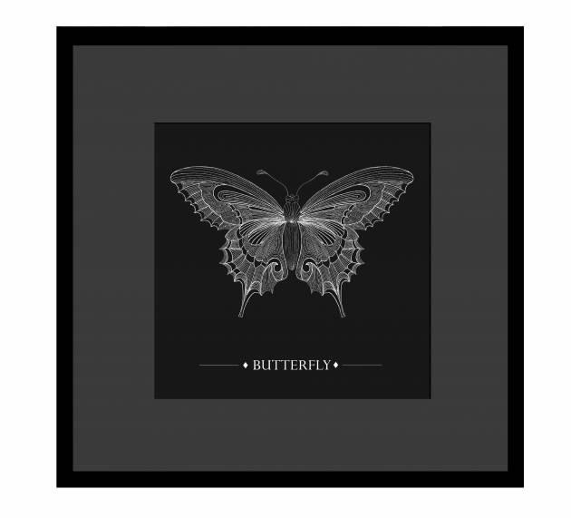 Eleanor Stuart Butterfly Print