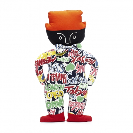 Graffiti Man Doll