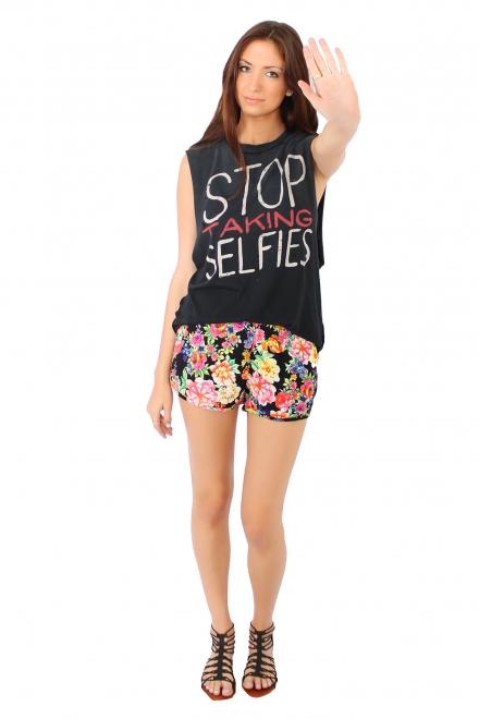 UNIF Stop Taking Selfies Tank