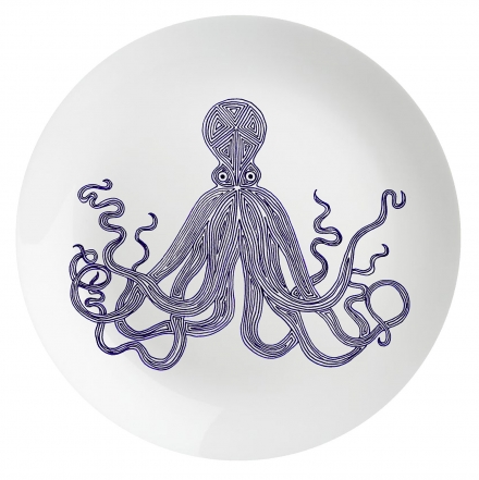Eleanor Stuart Octopus Plate
