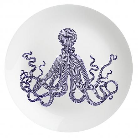 Eleanor Stuart Octopus Plate