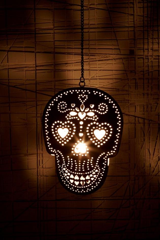Skull Tea Light Candle Holder