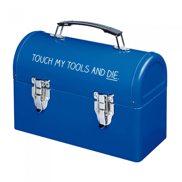 Blue Happy Jackson Tool Box