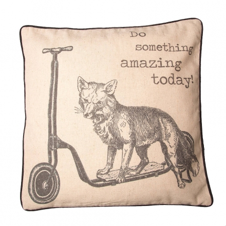 Do Something Amazing Today Cushion