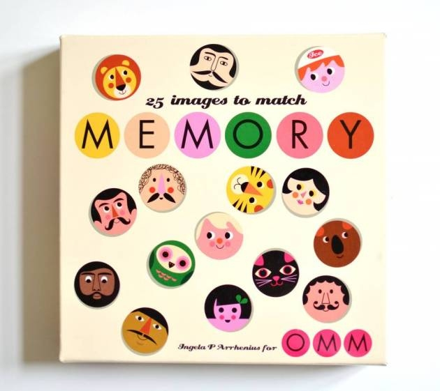 Faces Memory Matching Game