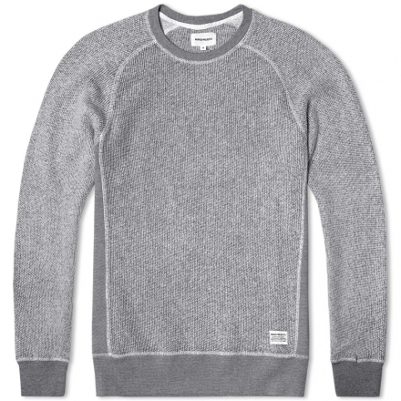 Norse Projects Vorm Brushed Basket Sweat