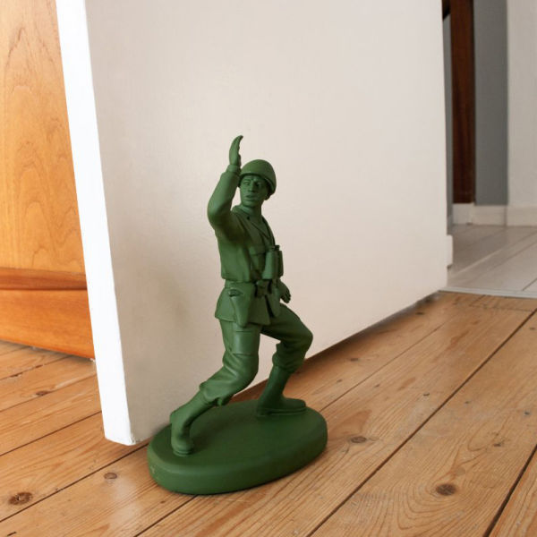 TOY SOLDIER SHAPED DOOR STOP HOMEGUARD