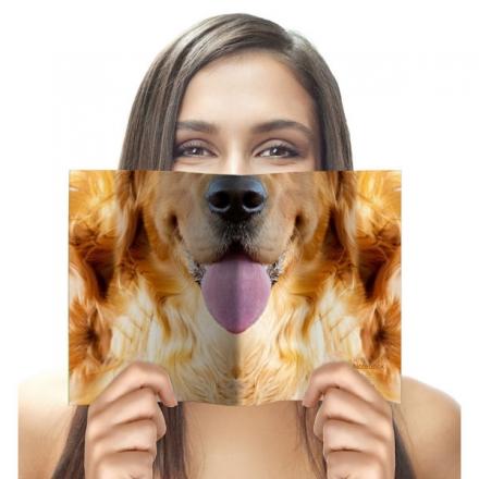 ANIMAL FACE NOTEBOOK – DOG